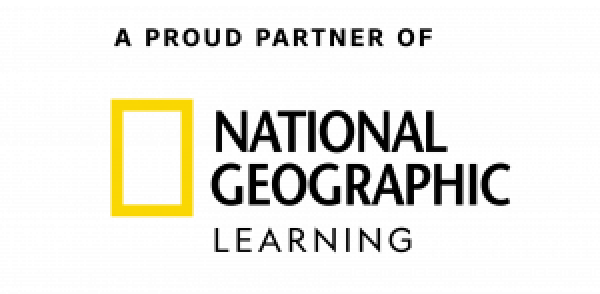 Proud Partner of National Geographic Learning logo